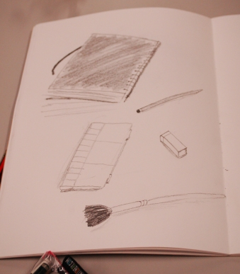 Learning to draw fast helps with loosening us up.