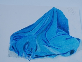 Drawing or painting fabric is good for blending and tones.