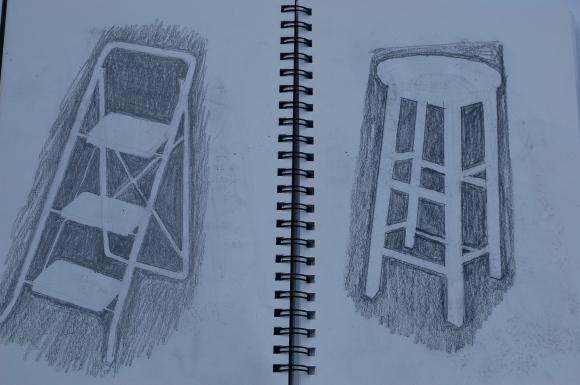 Negative space studies