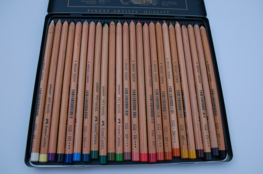 Pastel Pencils usually come in sets