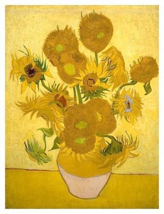 'Sunflowers' - Van Gogh