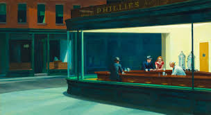 Edward Hopper 'Nighthawks'