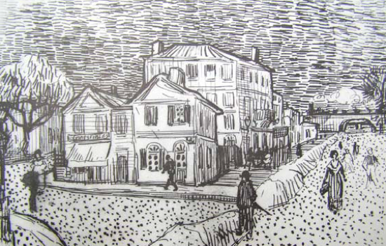 Line Drawing Van : Famous artists worth knowing about rebecca art tutor