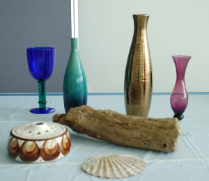 Spend time arranging your objects to get the best composition